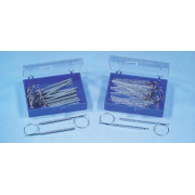 К6320-10 Лигатурана булавках 1,0 мм - прозрачная